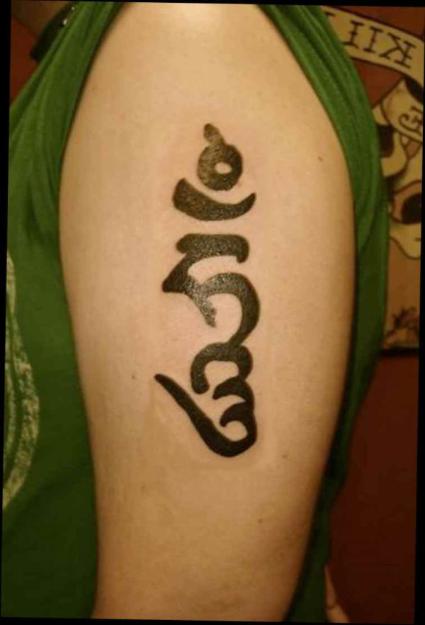 Sanskrit buddha tattoo meaning
