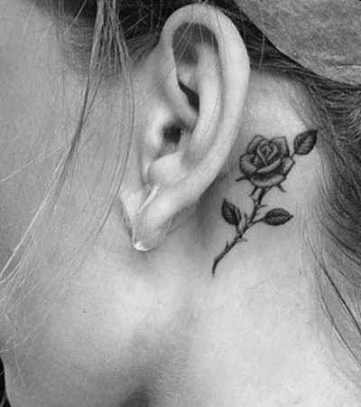 Tattoo ideas behind the ear