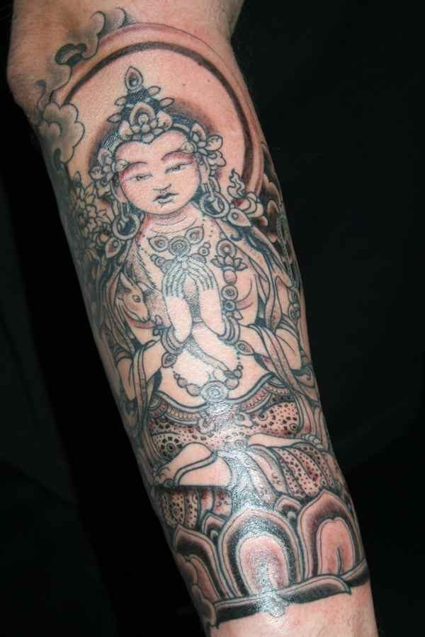 Tibetan Buddha tattoo meaning