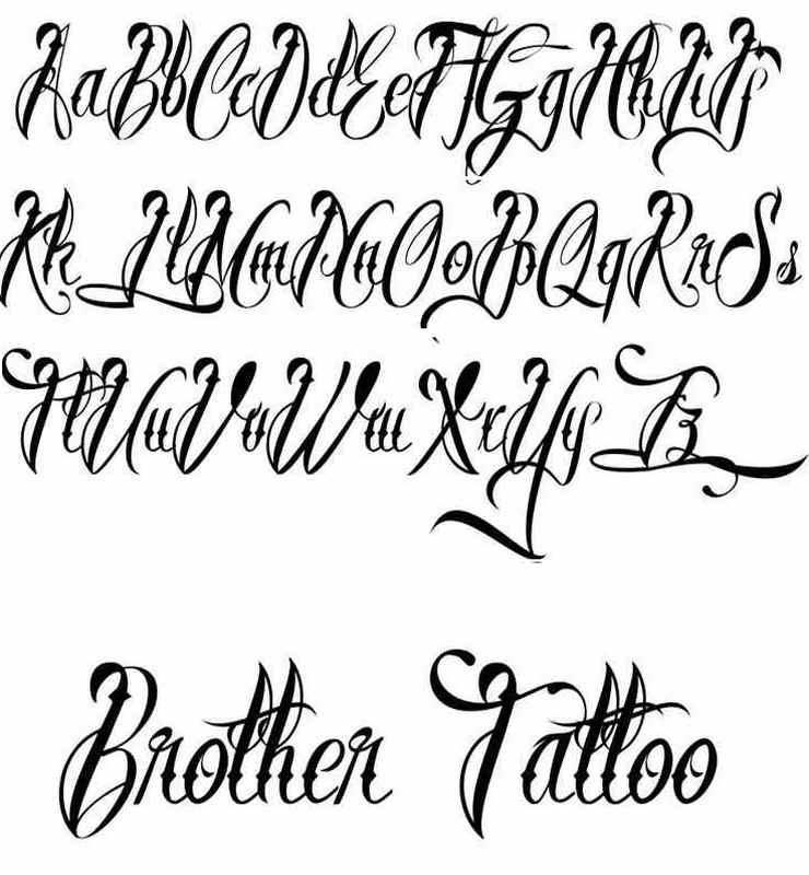 Best Free Tattoo Fonts