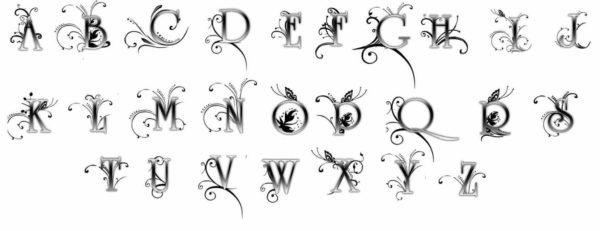 Tattoo font designer