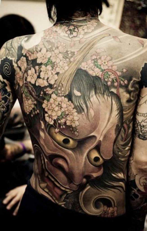 Full body creative tattoo