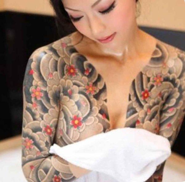 Full body tattoo female pics