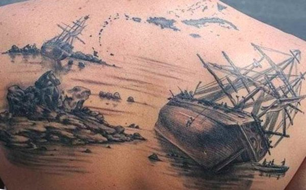 Sinking ship tattoo meaning