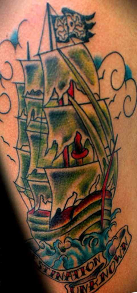 Tattoo meaning of a ship