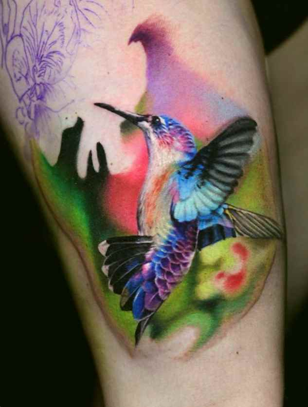 hummingbird tattoos tattoo designs ideas for man and woman. Black Bedroom Furniture Sets. Home Design Ideas