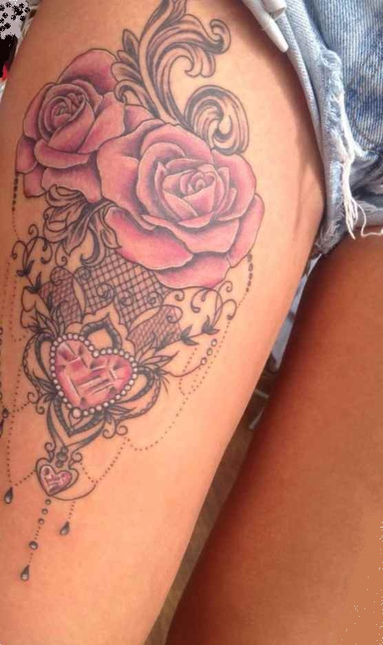 Tattoo for girls on thighs