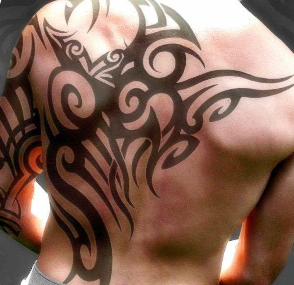 Henna tattoo for men
