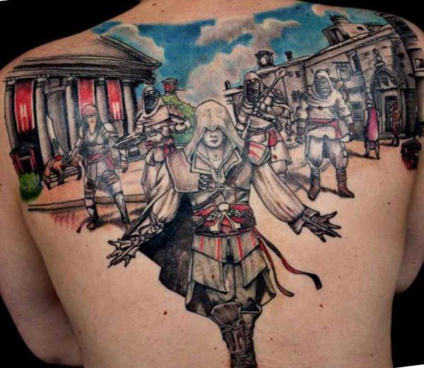Assasins creed tattoo