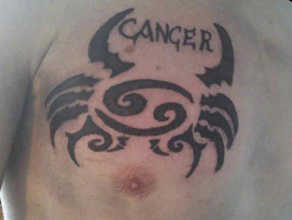 Cancer sign tattoos