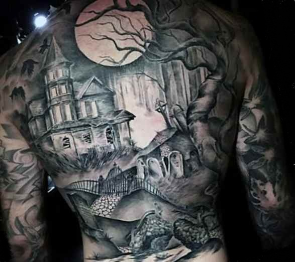 Cool tattoo on back