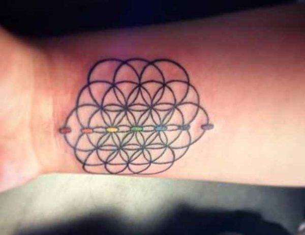 Cool tattoo on wrist