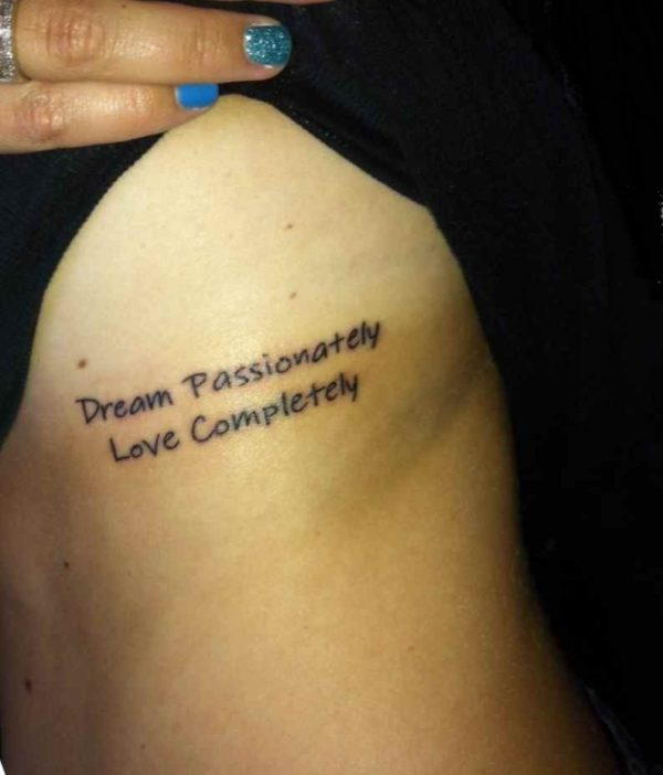Cool tattoo phrases