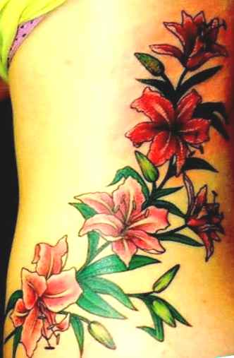 Flower tattoo and meaning