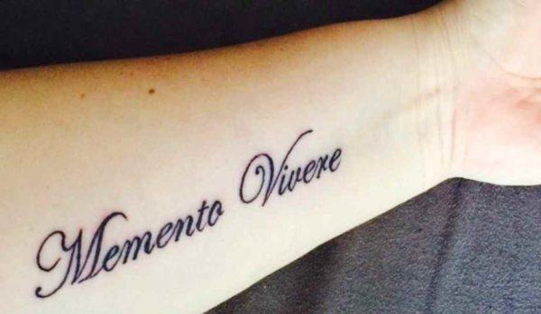 Meaningful tattoos in latin