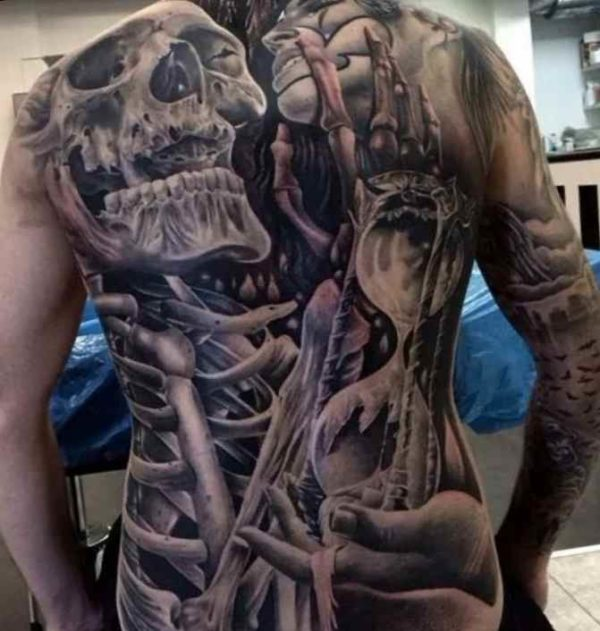 Tattoo designs for men on back