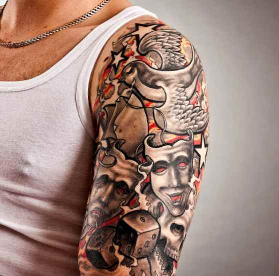 Tattoo designs for men on forearm