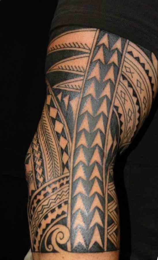 Cool tribal tattoo for your arm
