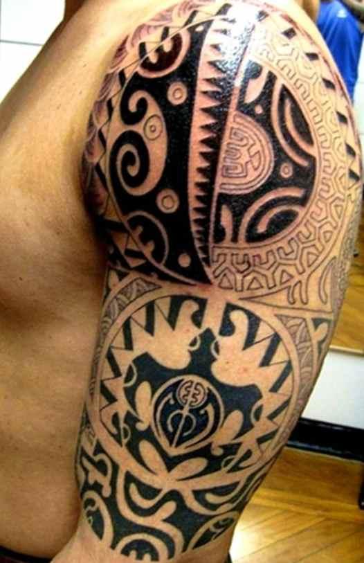 Maori nice tribal tattoo