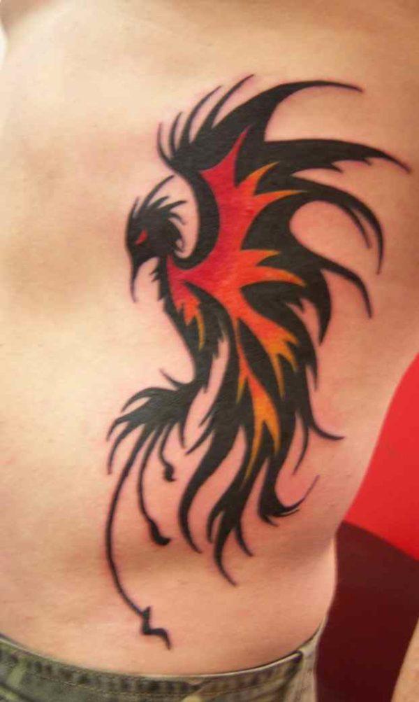 Men's Phoenix Tattoo