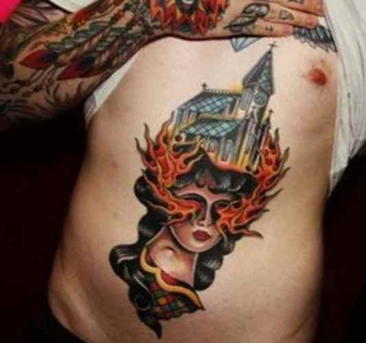 Tattoo ideas for men stomach