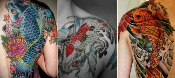 Koi fish tattoo sleeve