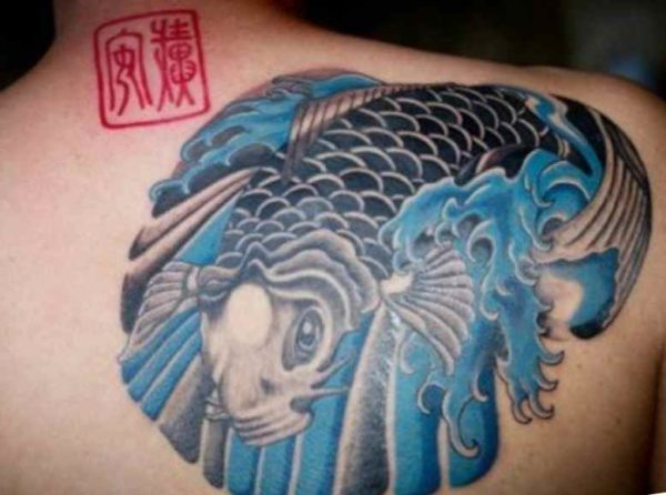 Koi fish tattoo meaning designs tattoo designs ideas for for Koi fish shoulder tattoo