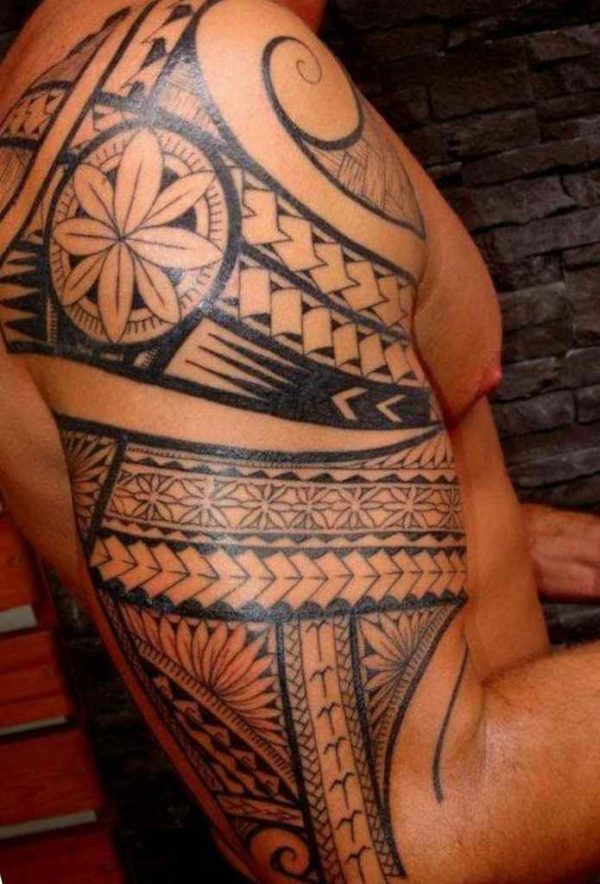 Sleeve tattoo and meaning