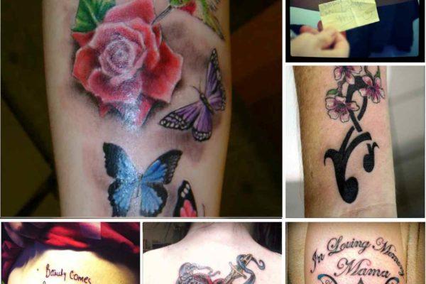 Tattoo ideas dedicated to mom