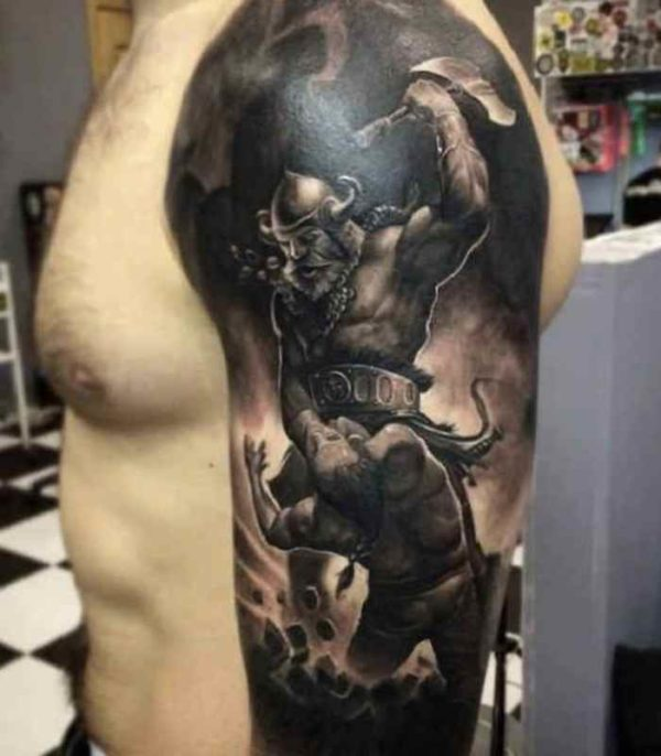 Tattoo idea for men arm