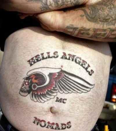 Hells angels tattoo