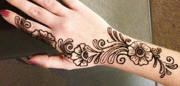 Henna tattoo custom designs