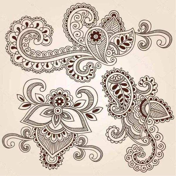 Henna tattoo designs and patterns