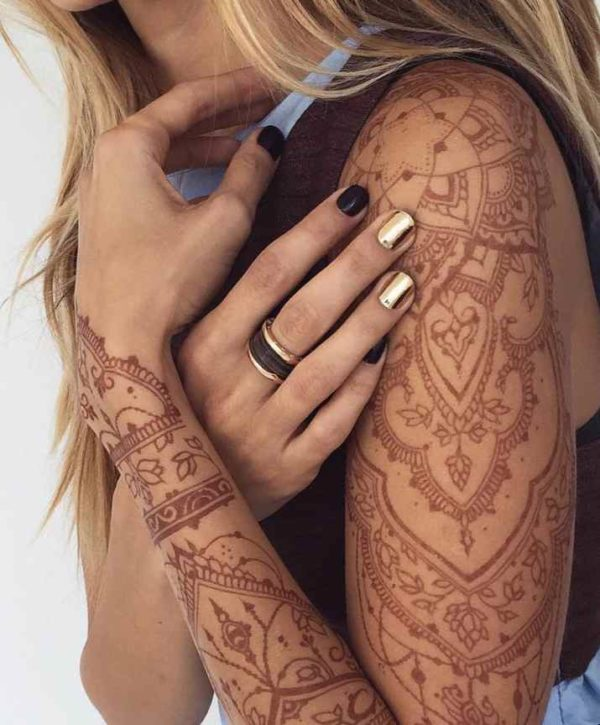 Henna tattoo designs body