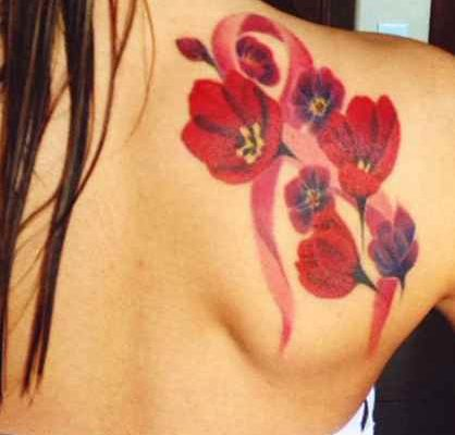 Virgo breast cancer tattoos