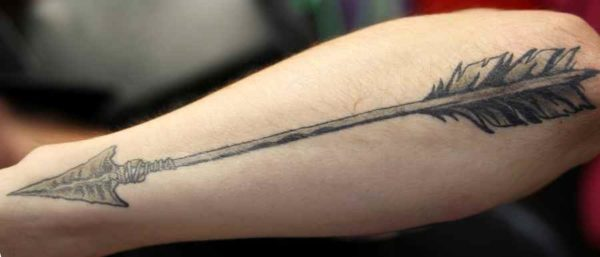 Arrow tattoo and meaning