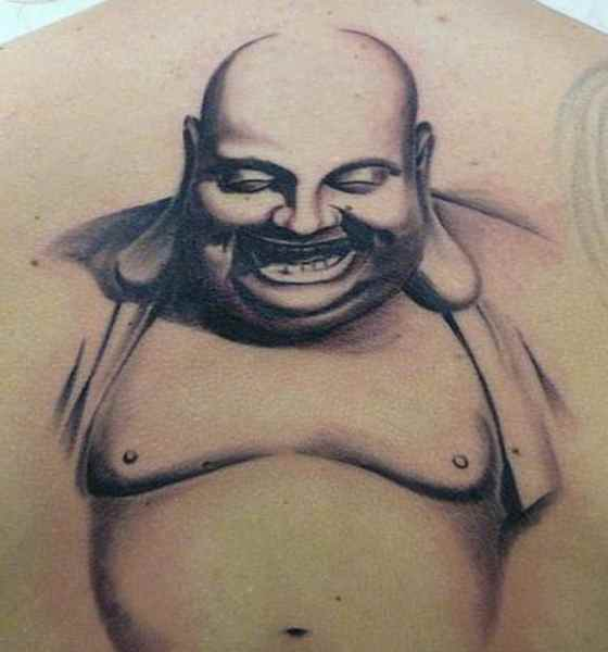 Buddha face tattoo meaning