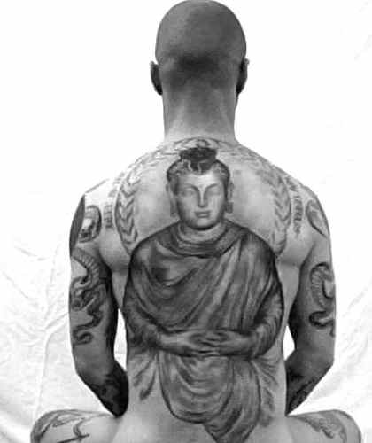 Buddha tattoo and meanings