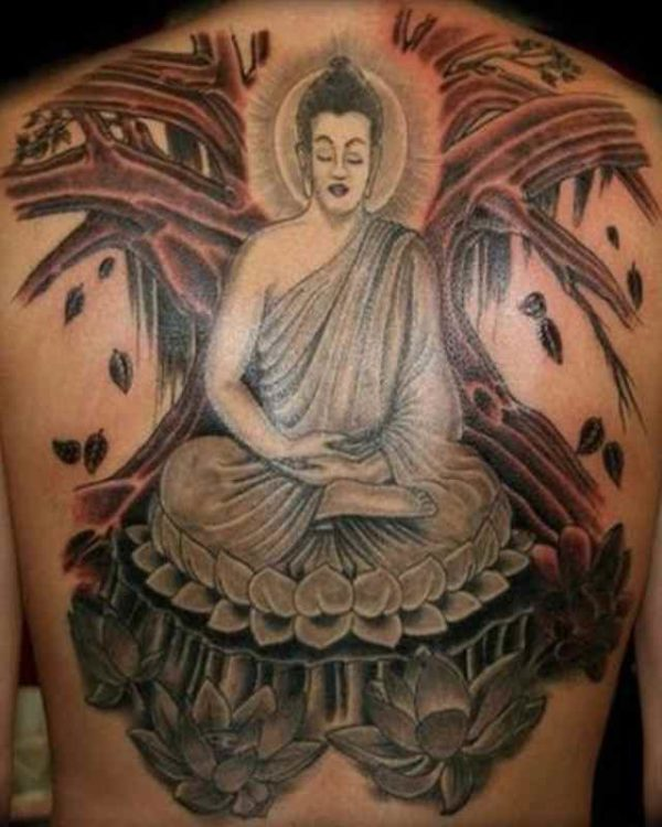 Buddhist Symbols And Meanings For Tattoos Buddha Tattoo Design M...