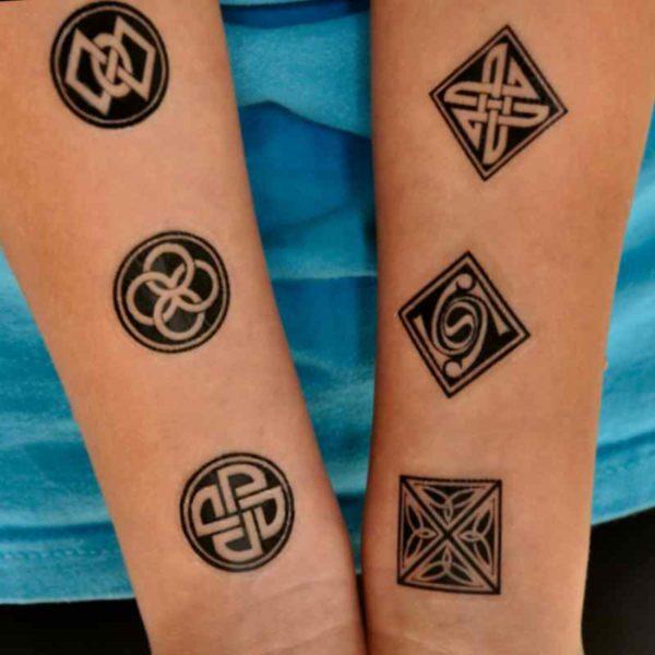 Buddhist tattoo symbols meanings