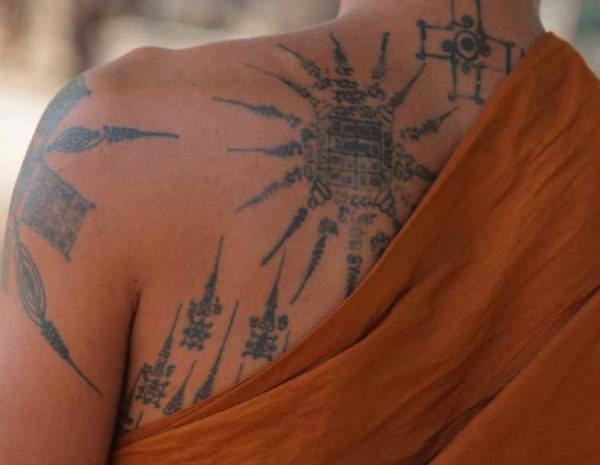 Buddhist tattoos meaning and symbols