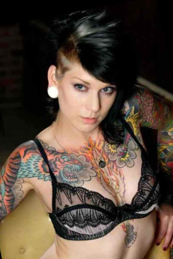 Chest tattoo designs female