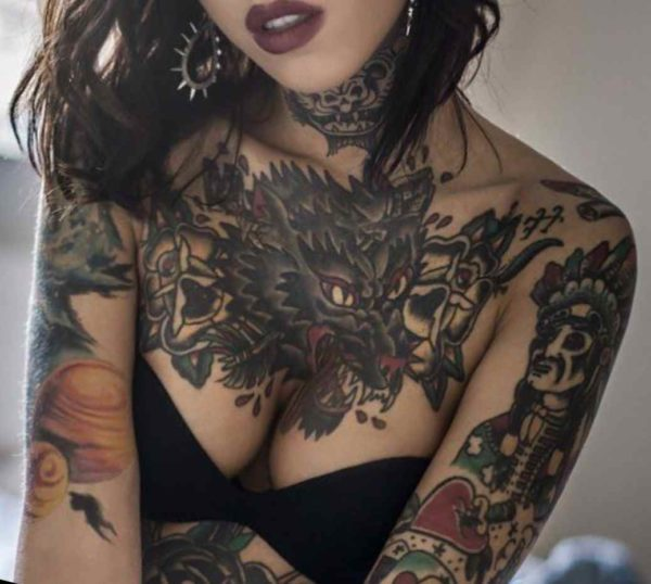 Chest tattoos are ugly