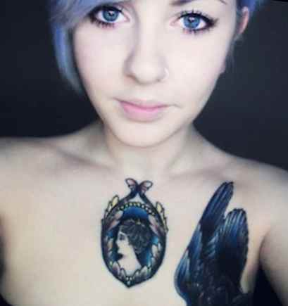 Chest tattoos for daughter