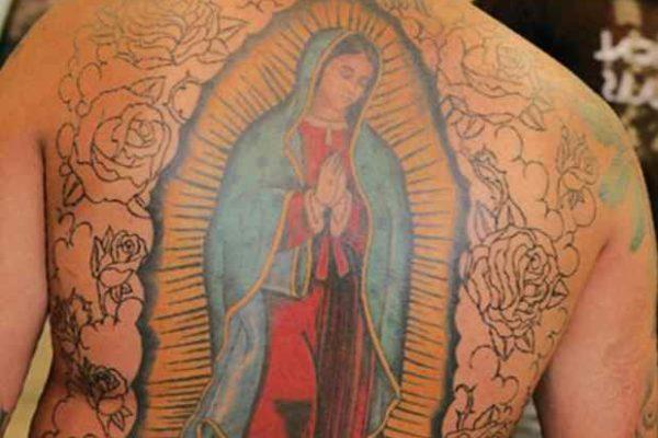 Christian tattoos for men Virgin Guadalupe