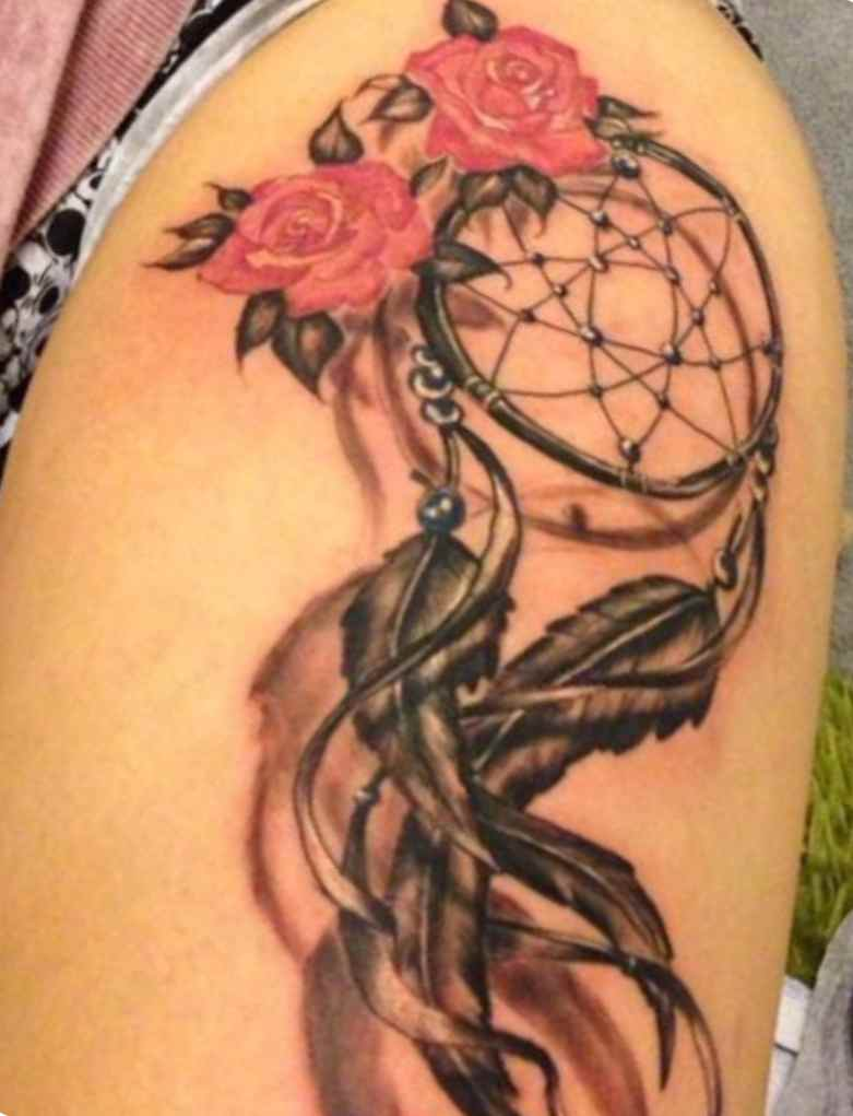 Dreamcatcher tattoo meaning symbolism tattoo designs for Tattoos with symbolic meaning