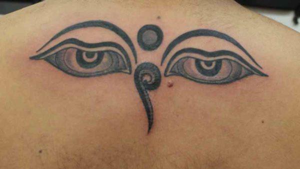 Eyes of Buddha tattoo meaning