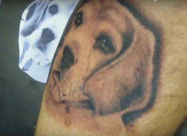 Tattoo ideas for dog
