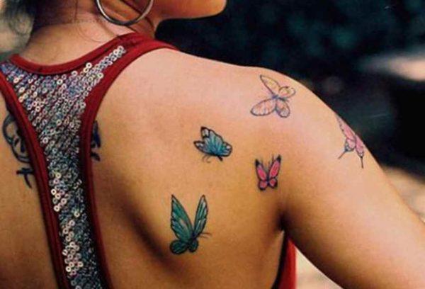 Pretty butterfly tattoo