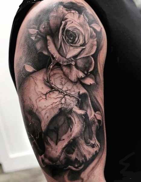 Tattoo sleeve ideas roses